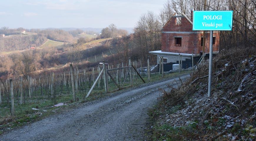 """Za rekonstrukciju """"Vinskog puta"""" osigurano više od 2,5 milijuna bespovratnih kuna"""