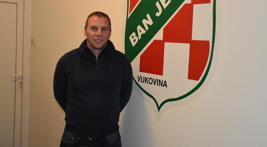 Marin Rakuljić za kormilom Bana Jelačića iz Vukovine