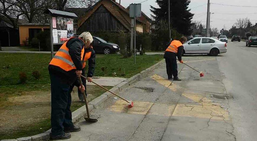 Proljetno održavanje javnih površina za ljepšu Općinu Križ