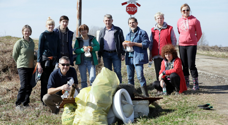 FOTO: Zelena čistka za ljepši Ivanić-Grad