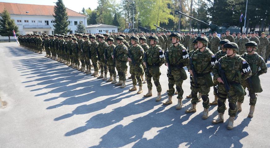 Bjelovar: Ispraćen 4. hrvatski kontingent u Poljsku