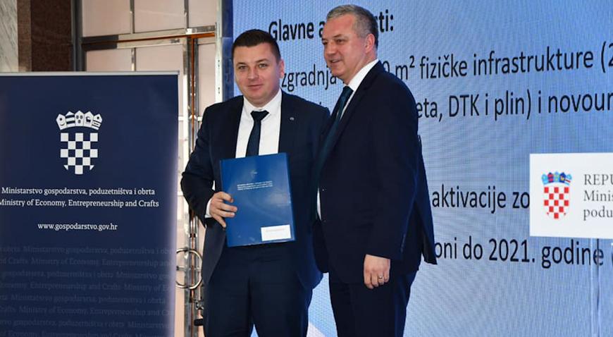 Općina Rugvica za Poduzetničku zonu Rugvica-sjever dobila 9,3 milijuna bespovratnih kuna