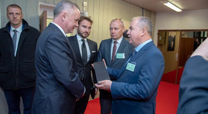 Martin Baričević se susreo s predsjednikom Slovačke