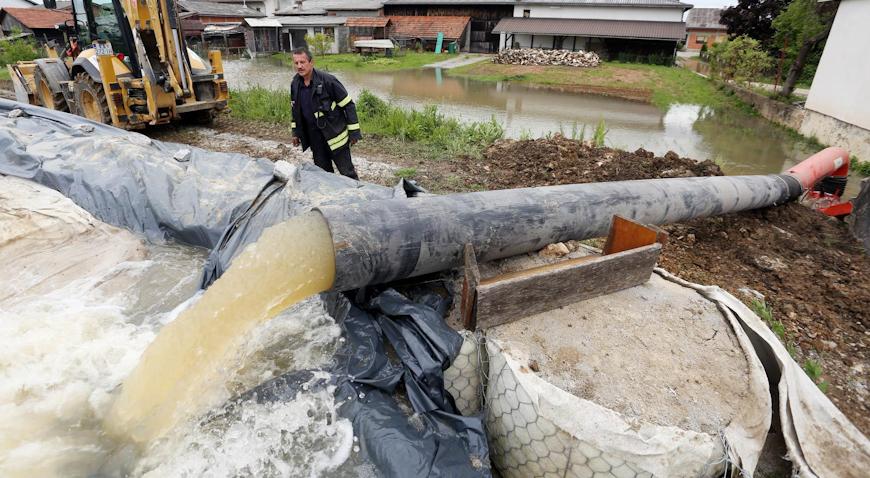 Na Korani proglašene izvanredne mjere obrane od poplave