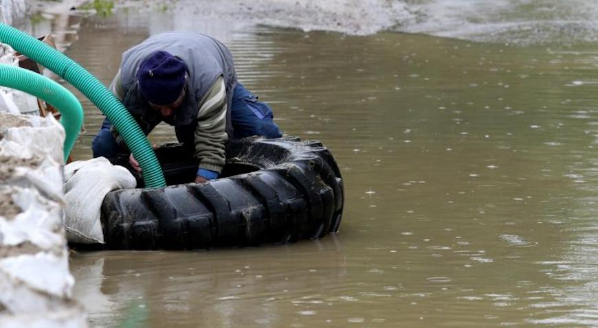 U Jasenovcu proglašene izvanredne mjere obrane od poplava