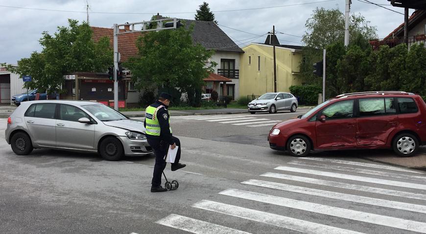 Prometna nesreća na ulazu u Veliku Goricu
