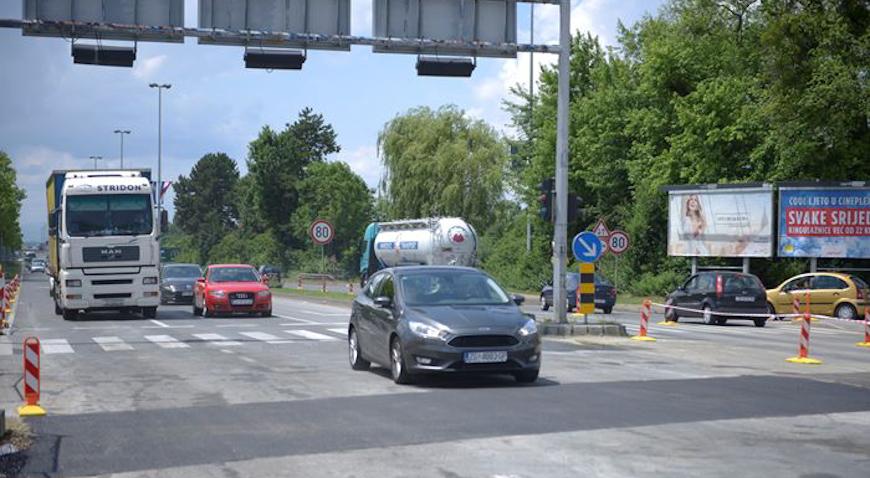 Slavonska avenija otvorena za promet