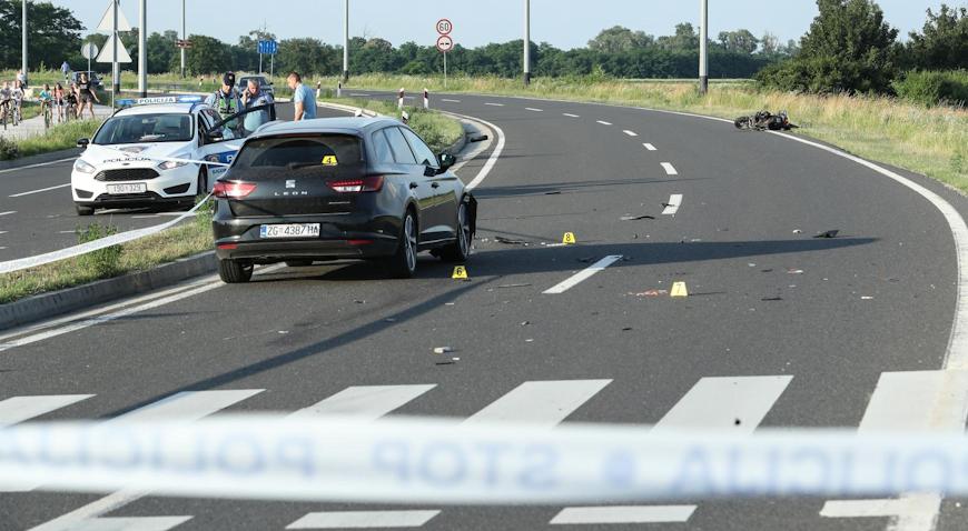 U prometnoj nesreći u Velikoj Gorici poginuo motorist