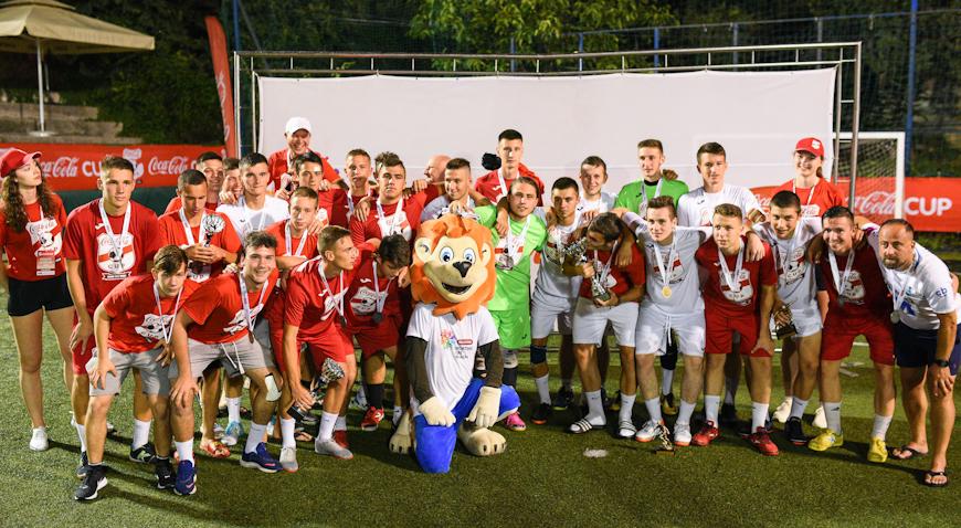 Zelinčani treći na Coca Cola Cupu u Splitu