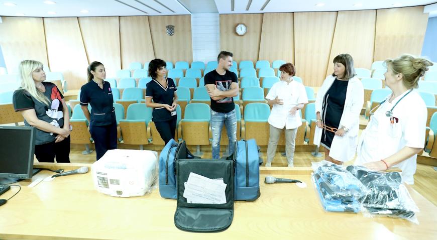 Plemenita donacija obitelji Malogorski teško oboljelim mališanima Klaićeve bolnice