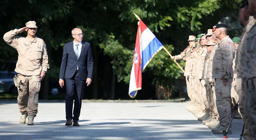 """VIDEO: Povratak Hrvatske vojske iz misije """"Resolute Support"""" u Afganistanu"""