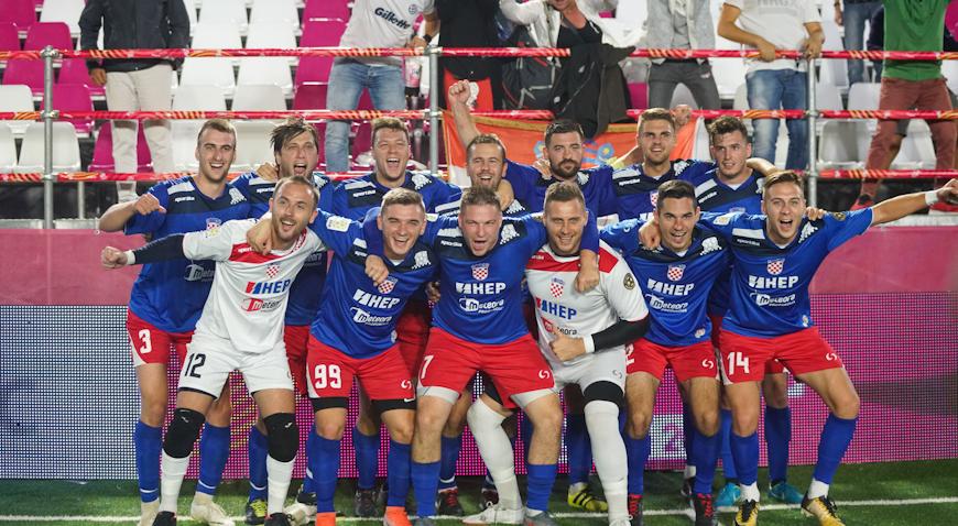 Prva pobjeda Hrvatske na Socca Svjetskom prvenstvu