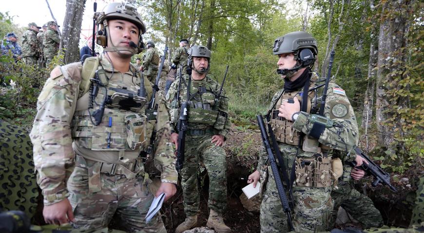 """VIDEO: Na vojnom poligonu """"Eugen Kvaternik"""" otvoren kontrolno-nadzorni toranj"""