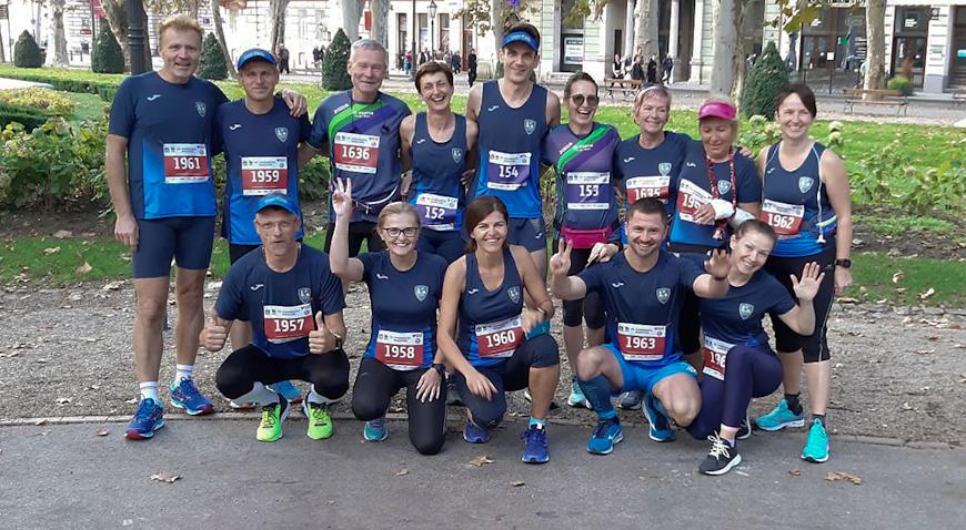Dugoselci istrčali Zagrebački maraton, klub dobio novu maratonku