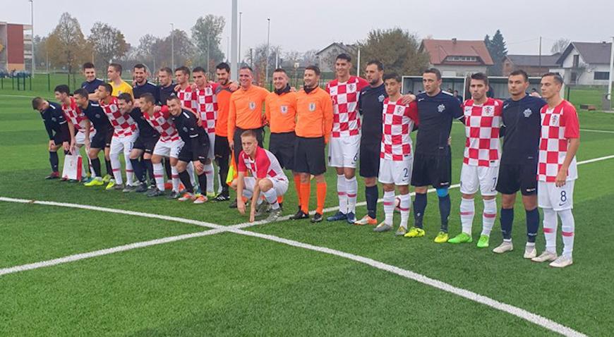 Hrvatska U-18 uveličala stoti rođendan Naftaš Ivanića