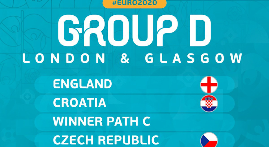 Hrvatska Euro otvara protiv Engleske na Wembleyju