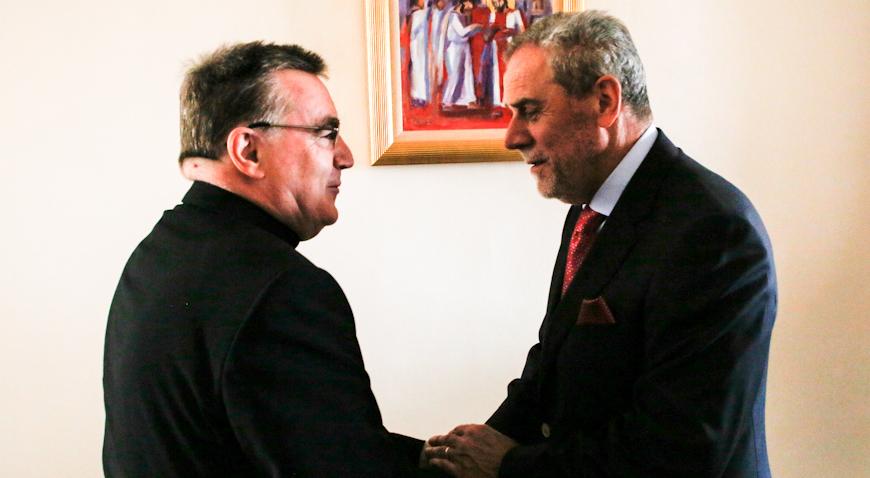 Kardinal Josip Bozanić i gradonačelnik Bandić dotaknuli se teme obnove zagrebačke katedrale