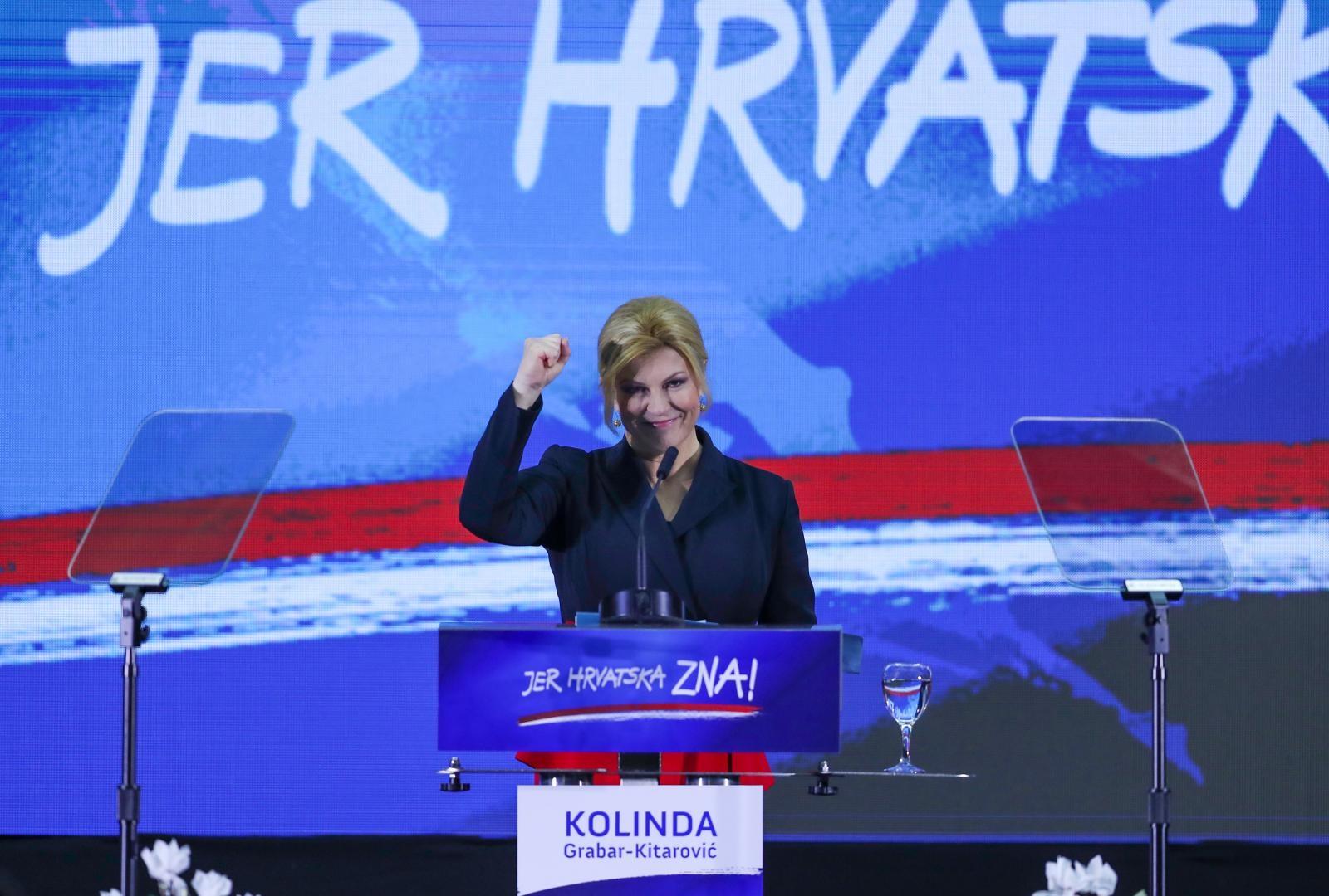 Predsjednica predstavila program za predstojeće izbore