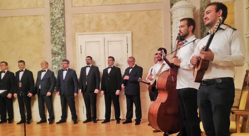 Muški pjevački zbor Bistrani u Austriji