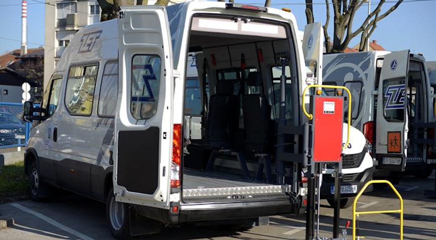 Vozni park ZET-a bogatiji za četiri nova specijalizirana kombi vozila