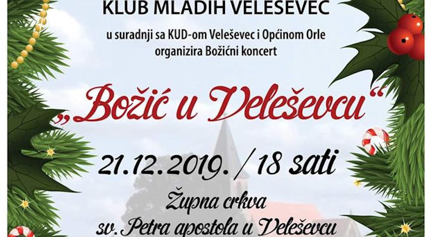"Sutra koncert ""Božić u Veleševcu"""