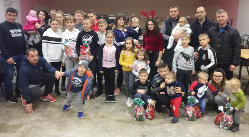 Sveti Nikola darivao djecu iz Ježeva