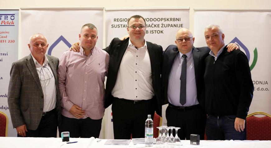 Potpisan Sporazum o izgradnji vodocrpilišta Kosnica