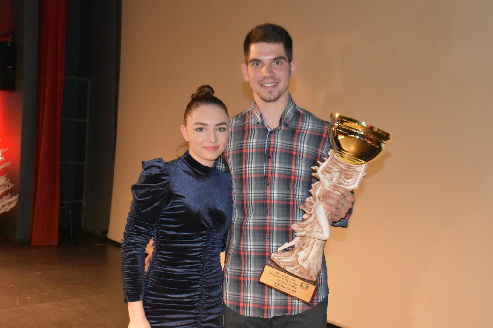 Davor Ćavar i Ines Grdenić najbolji gorički sportaši