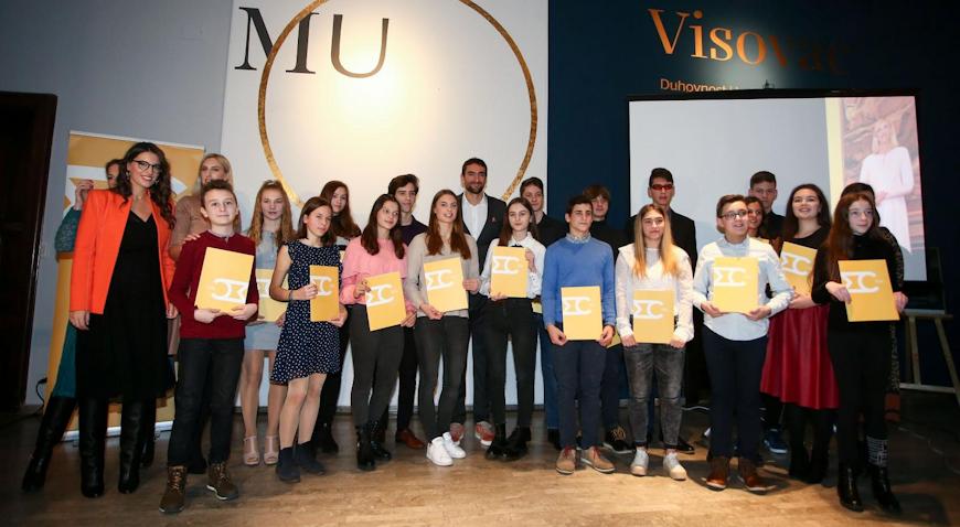 Marin Čilić uručio 22 stipendije darovitim sportašima i glazbenicima