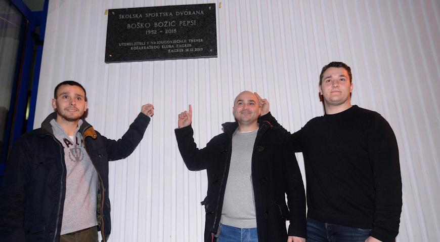 FOTO: Dvorana u Trnskom nosi ime Boška Pepsija Božića