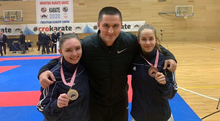 Ines Grdenić srebrna, a Mia Mijović brončana na Prvenstvu Hrvatske
