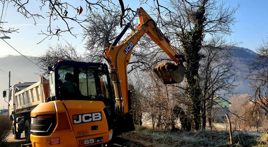 U Gupčevoj ulici u Maloj Gorici započela izgradnja vodovoda