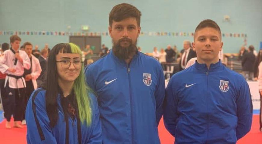 FOTO: Marin Hlad i Mihaela Ranogajec iz Velike Britanije donose iskustvo više za naredna natjecanja