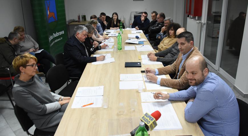 FOTO: Općina Dubrava kreće u obnovu zgrade NK Dubrave, obnavlja se dom u Zgališću