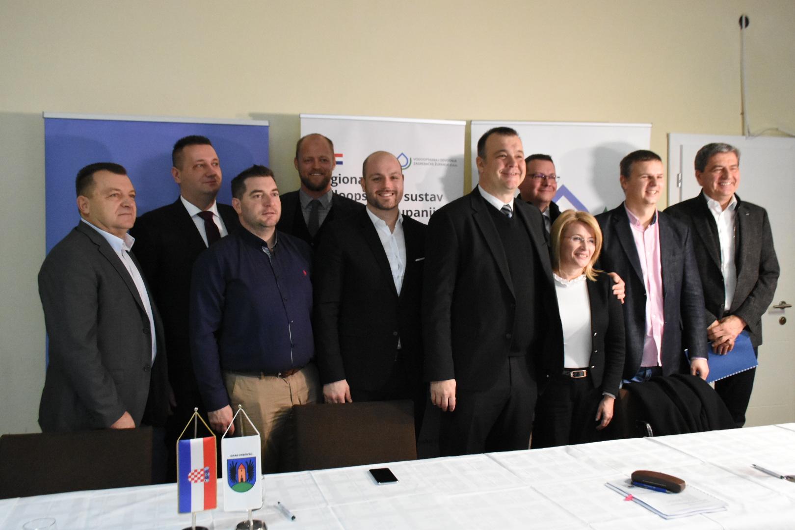 U Vrbovcu potpisan ugovor za izgradnju i rekonstrukciju vodoopskrbnih cjevovoda vrijedan više od 227 milijuna kuna