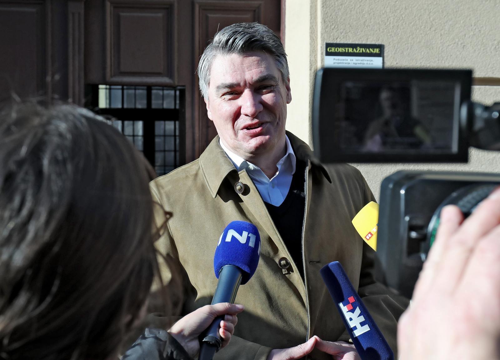 Zoran Milanović otkrio svoje prve predsjedničke poteze