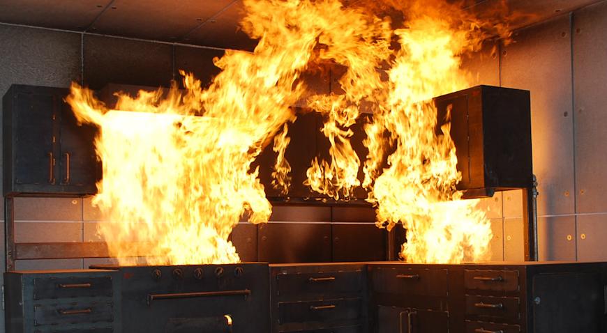 27-godišnjakinja ozlijeđena u požaru kuhinje