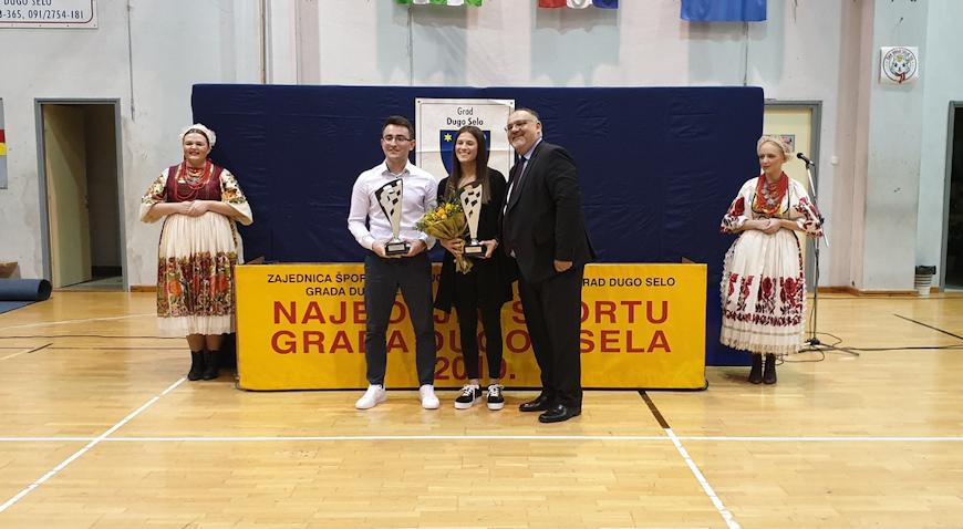 Josipa Bebek i Luka Martinek najbolji dugoselski sportaši
