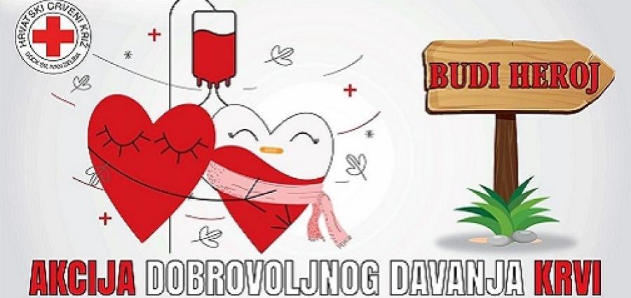 Sljedećeg tjedna u Zelini trodnevna akcija darivanja krvi