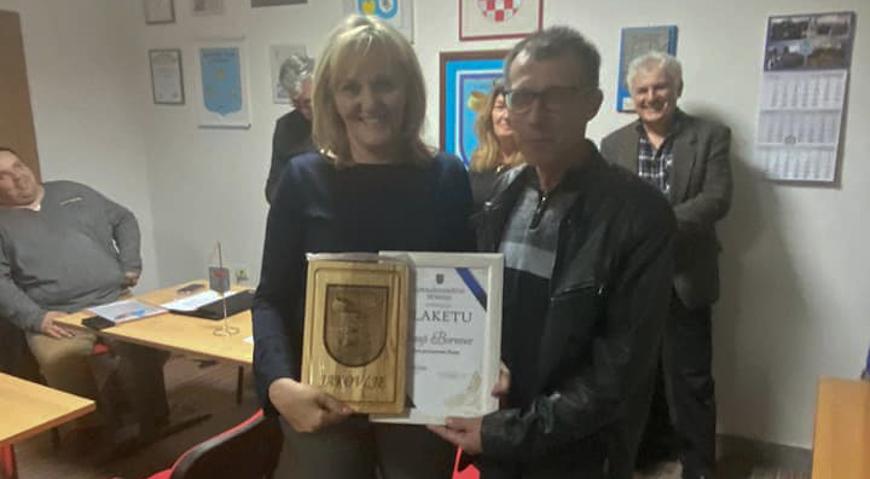 Sanja Borovec počasni član Kuburaškog društva Tri kralja