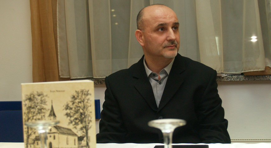 FOTO: U Zaprešiću predstavljena nova knjiga vjeroučitelja Ilije Nikolića