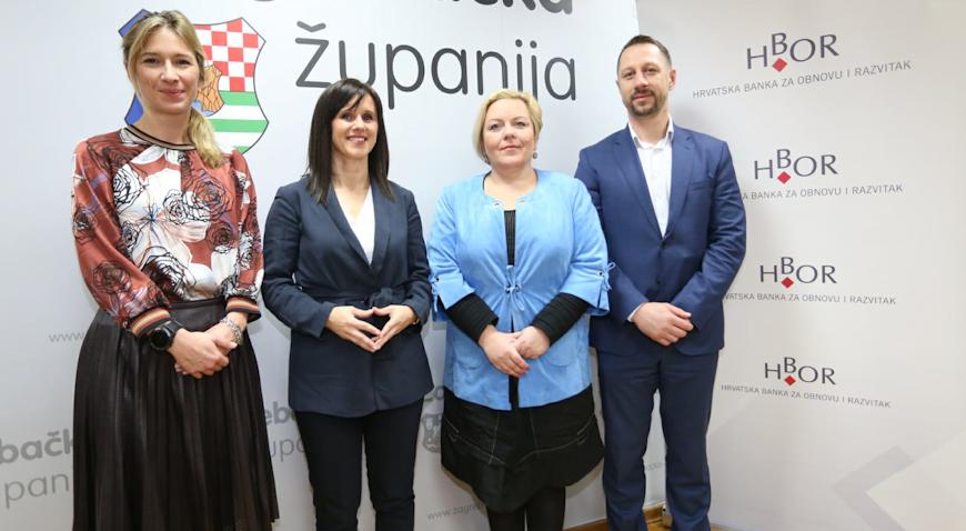 Poduzetnicima Zagrebačke županije krediti s kamatnom stopom već od 0,3 posto