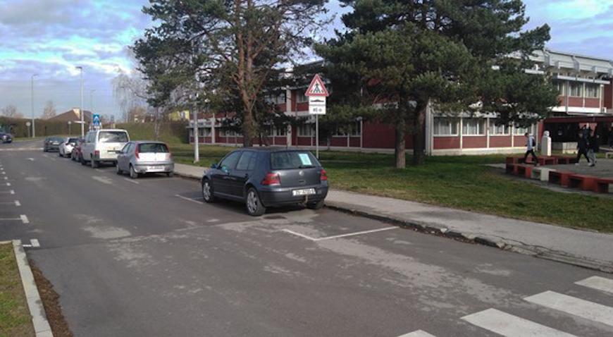 Školska ulica u Ivanić-Gradu dobiva novih 20 parkirališnih mjesta