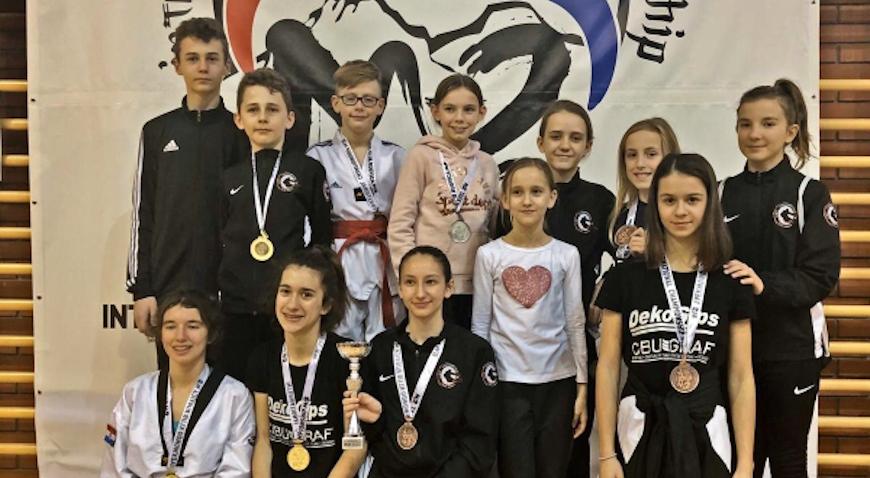 Taekwondo klub Velika Gorica najbolji u ukupnom poretku klubova na M-2 turniru u Vrbovcu