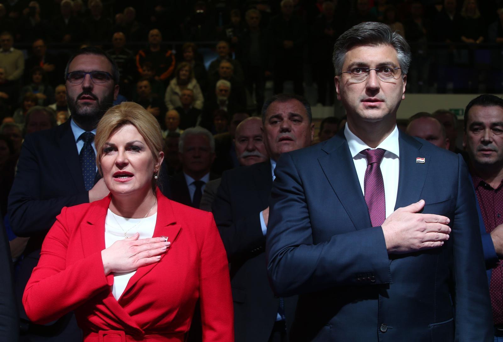 Plenković bi bivšu predsjednicu 'sa zadovoljstvom' primio natrag u HDZ