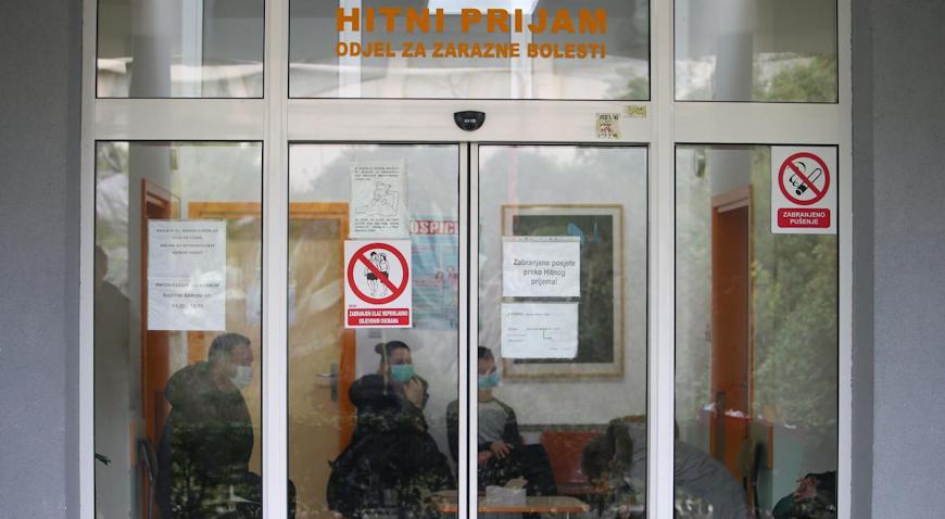 Muškarac u Splitu nema koronavirus