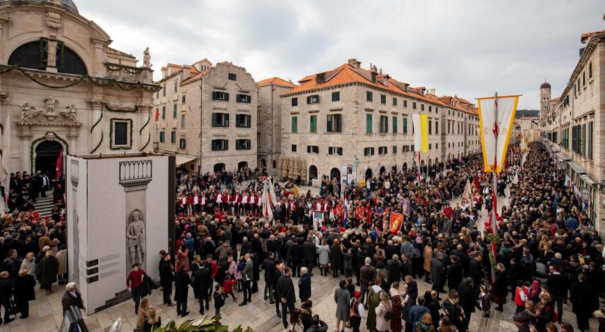 VIDEO: Svečano euharistijsko slavlje i procesija povodom svetkovine sv. Vlaha