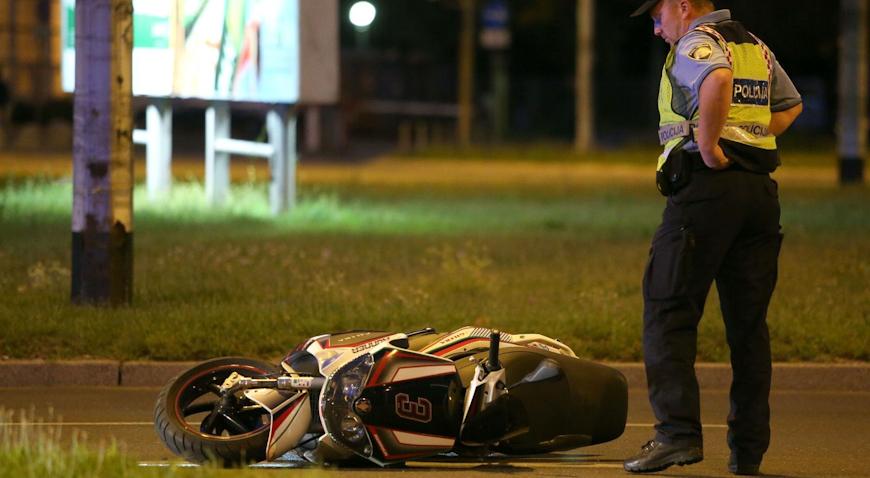 Kod Pazina poginuo motociklist, potraga za vozilom koje se udaljilo s mjesta nesreće