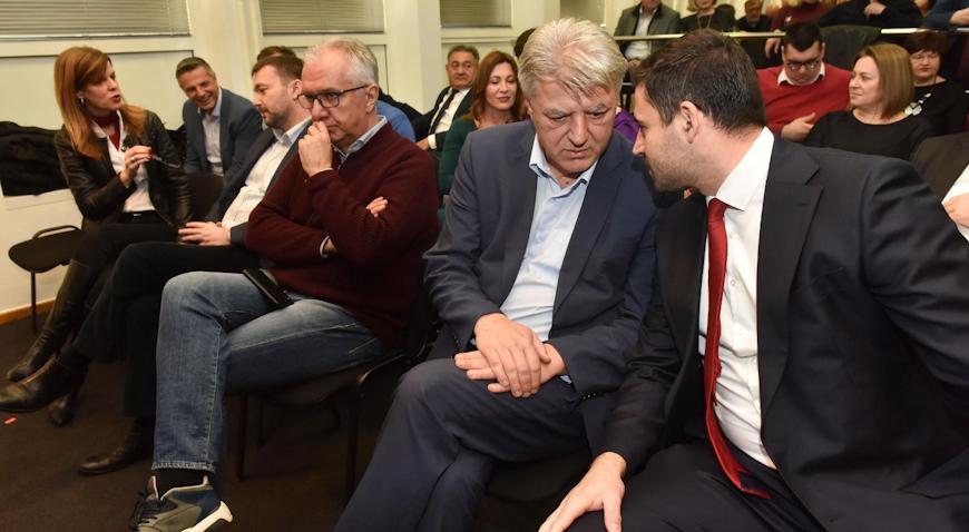 """Vodeći ljudi SDP-a predstavili smjernice predizbornog programa """"Ispiši budućnost"""""""