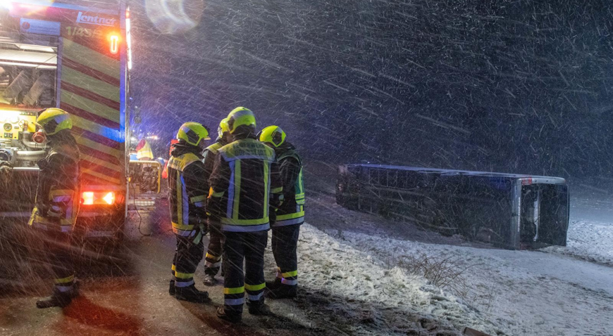 U Njemačkoj nesreća autobusa s putnicima iz Hrvatske, osam ozlijeđenih